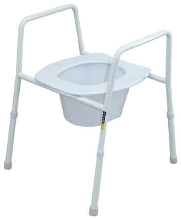 rental over toilet frame