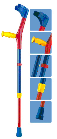 rental childrens crutches