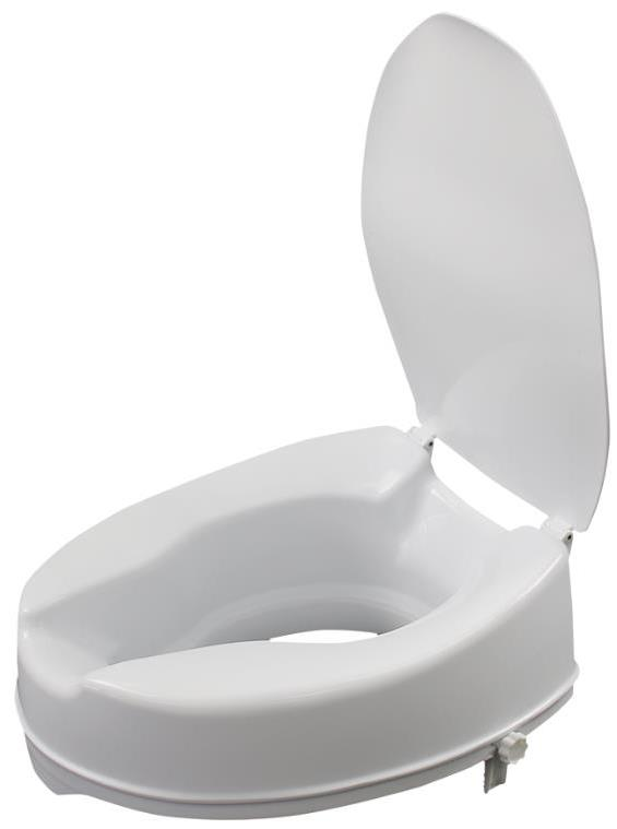 toilet seat raiser with lid 50mm to 150mm